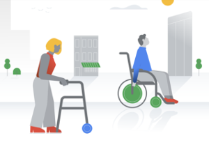 image from google access page